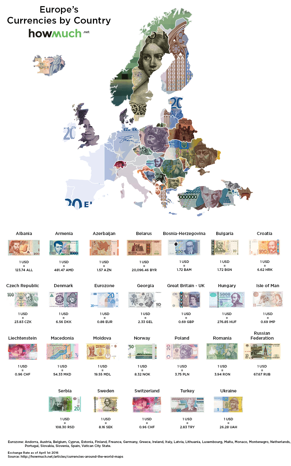 In The Map 5 Locations Have Stronger Currencies Than The U S Dollar Isle Of Man Great Britain Uk European Union Liechtenstein And Switzerland